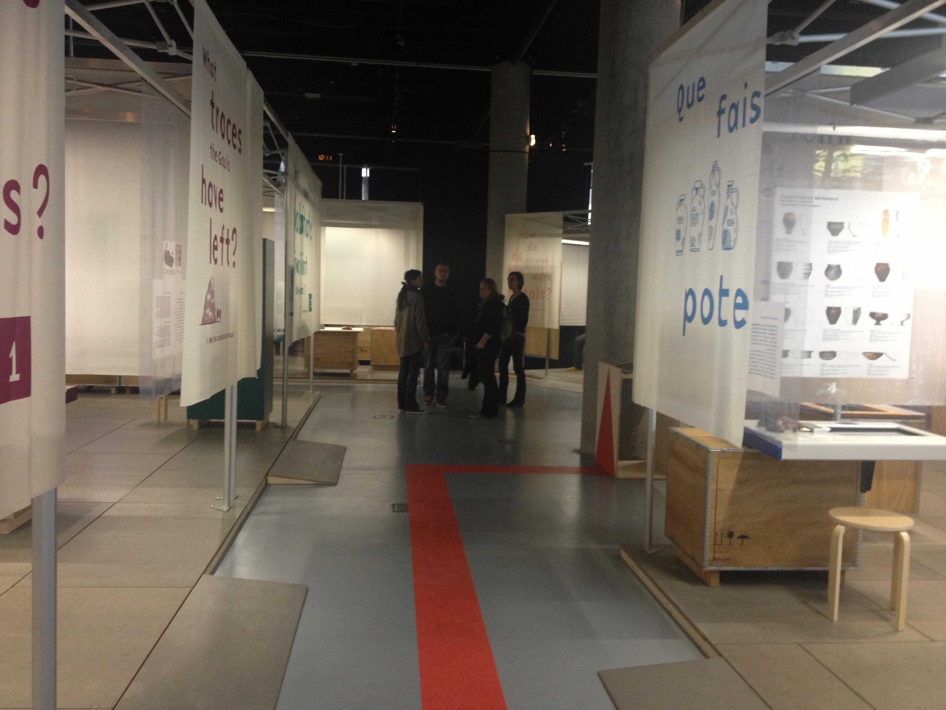 sc nographie gaulois une expo renversante ln h claudel design graphique. Black Bedroom Furniture Sets. Home Design Ideas